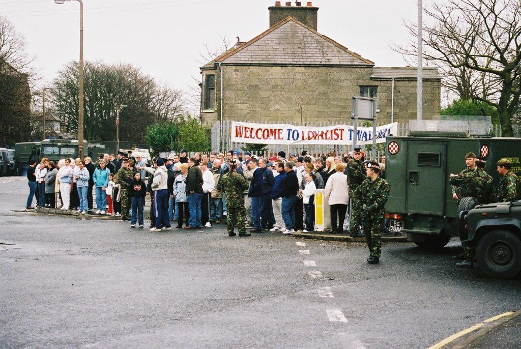 Troubles Protest